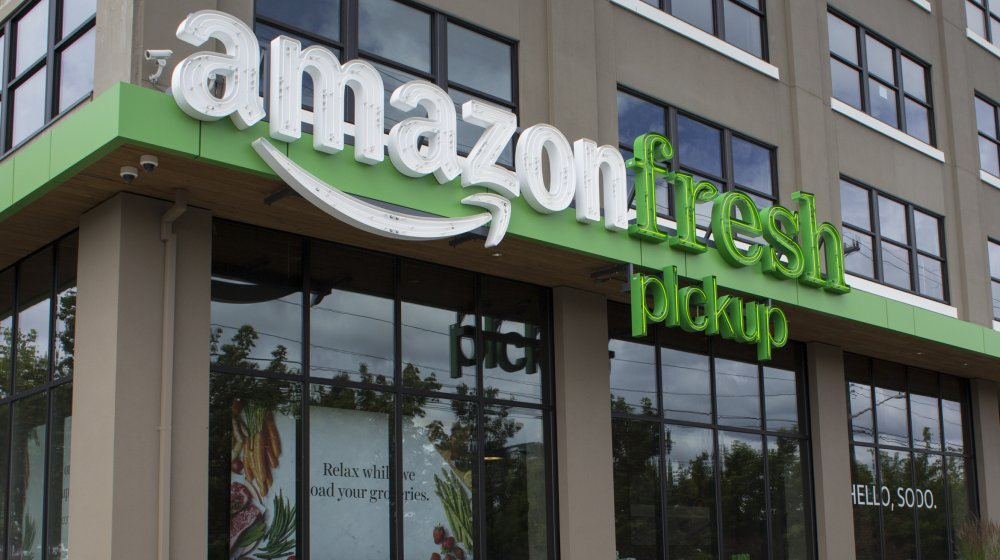 Amazon Fresh pickup location