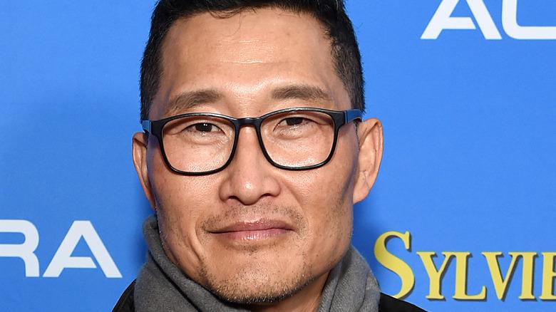 Daniel Dae Kim wearing glasses