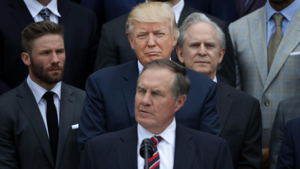 Bill Belichick Donald Trump WH