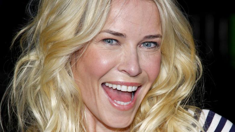 Chelsea Handler smiling