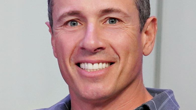 Chris Cuomo smiling