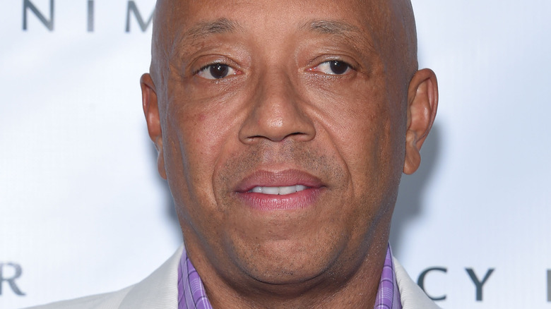 Russell Simmons close-up