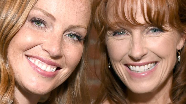 Karen Laine with daughter Mina