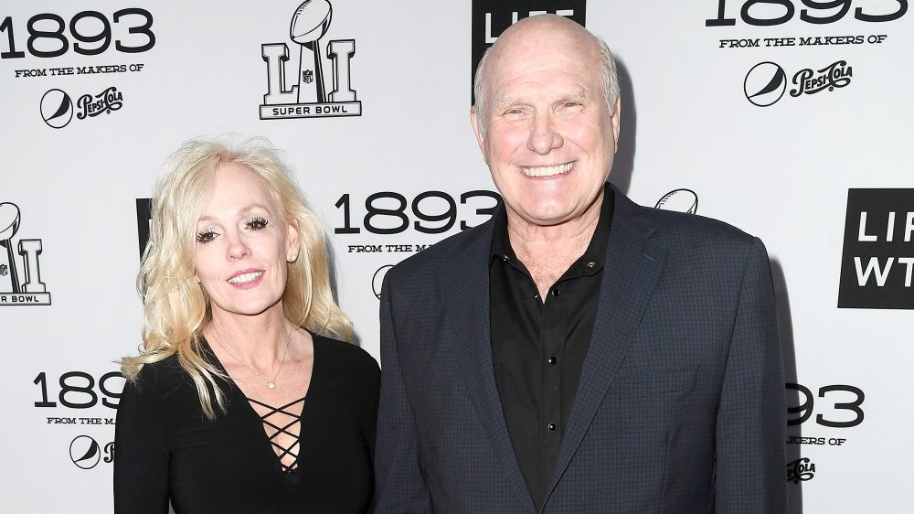 Terry Bradshaw and his wife Tammy