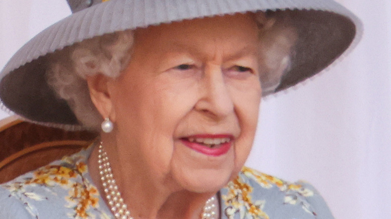 Queen Elizabeth Trooping the Colour