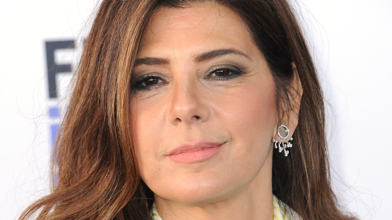 Marisa Tomei poses at event