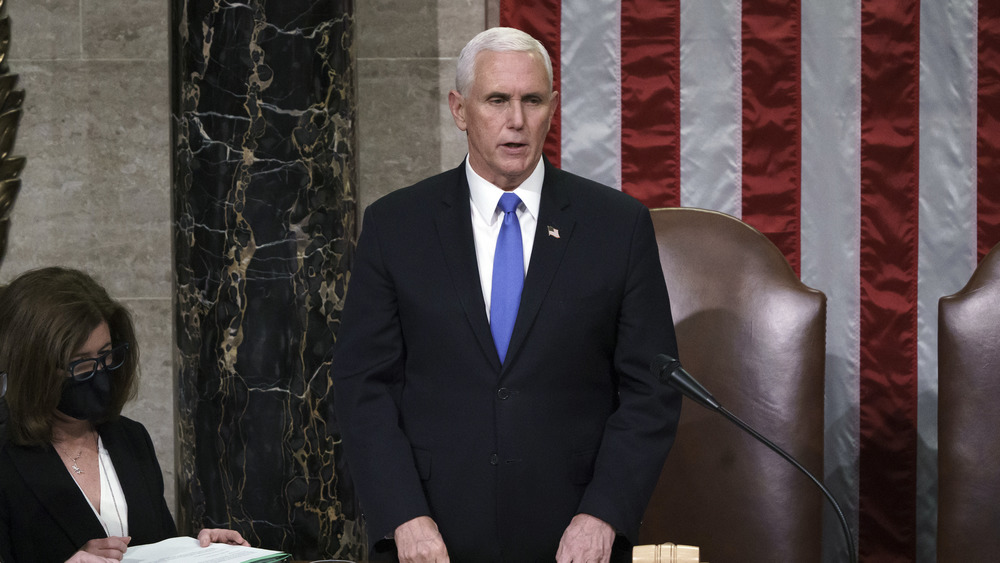 Vice President Mike Pence in Capitol building