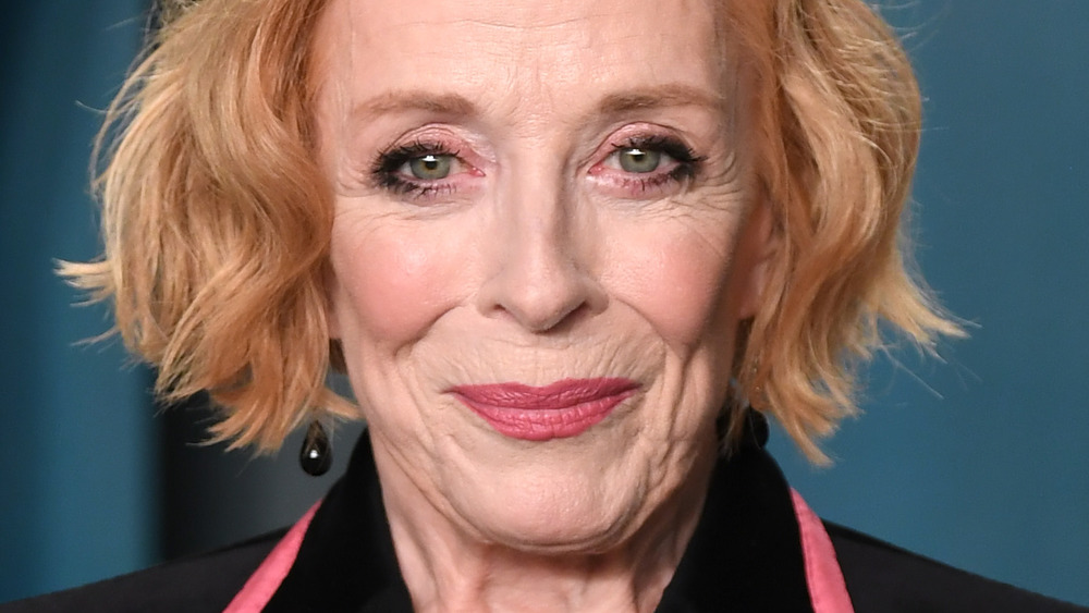 Holland Taylor smiling
