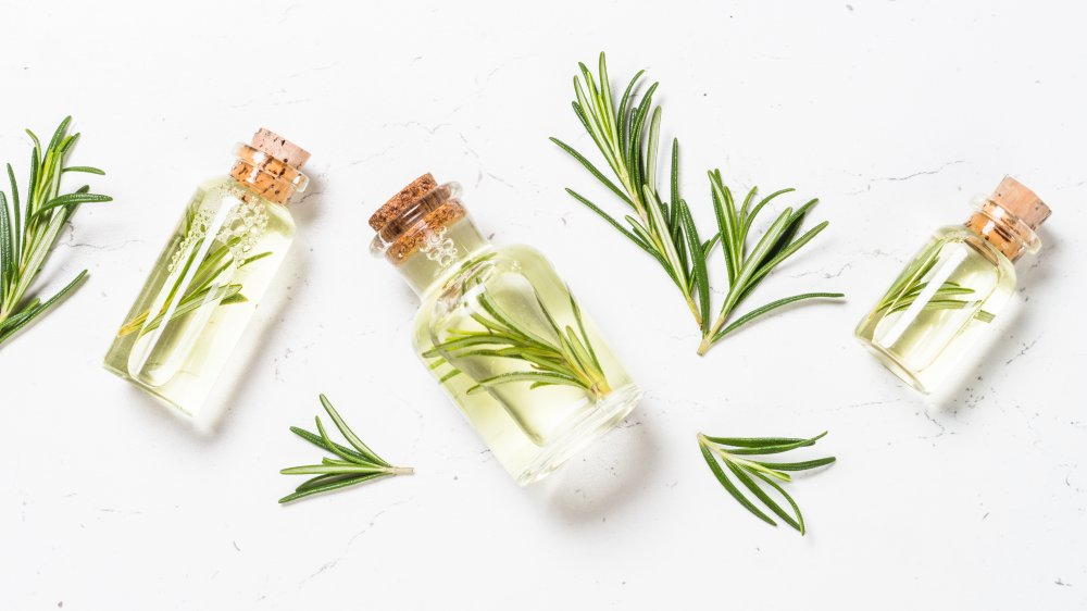 Rosemary and essential oils
