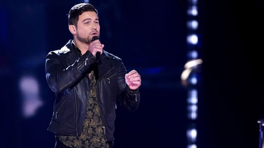 Ryan Gallagher on The Voice