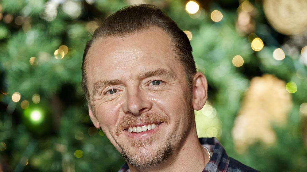 Simon Pegg smiling