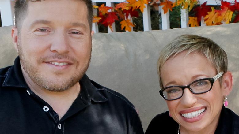 Bill Klein and Dr. Jen Arnold smiling together