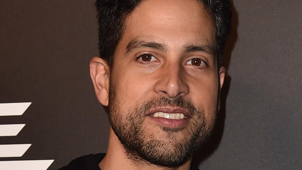 Adam Rodriguez smiling