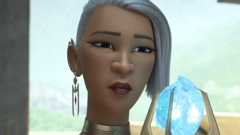Virana from Raya and the Last Dragon