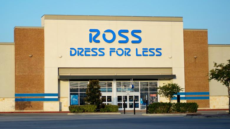 Ross Dress for Less exterior
