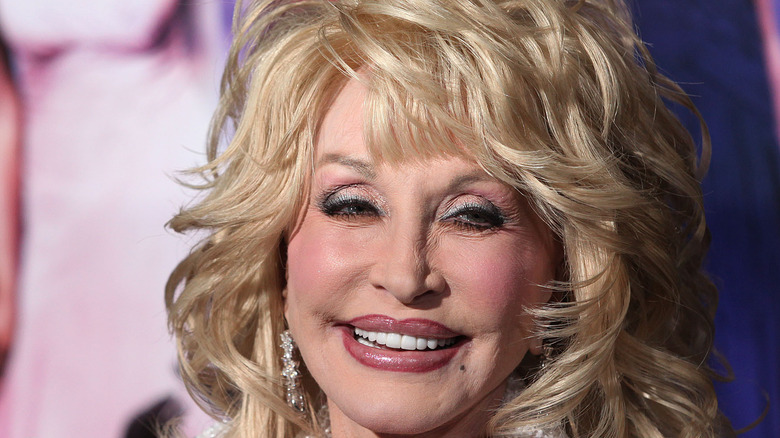 Dolly Parton at event