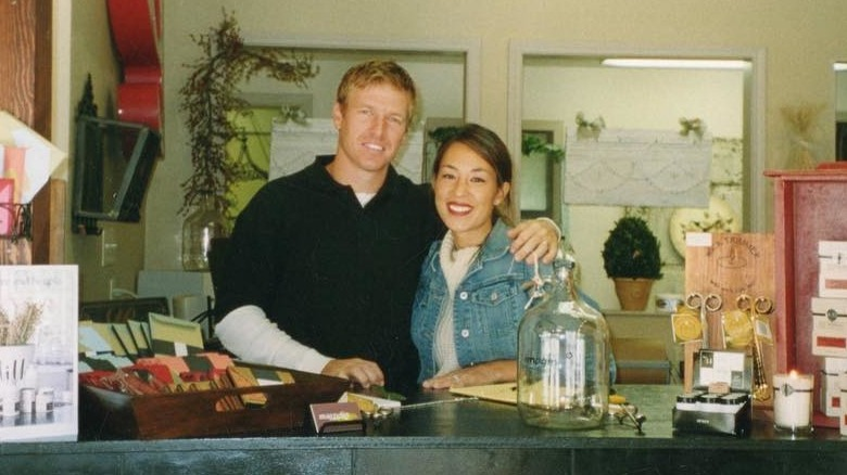 young Chip and Joanna Gaines
