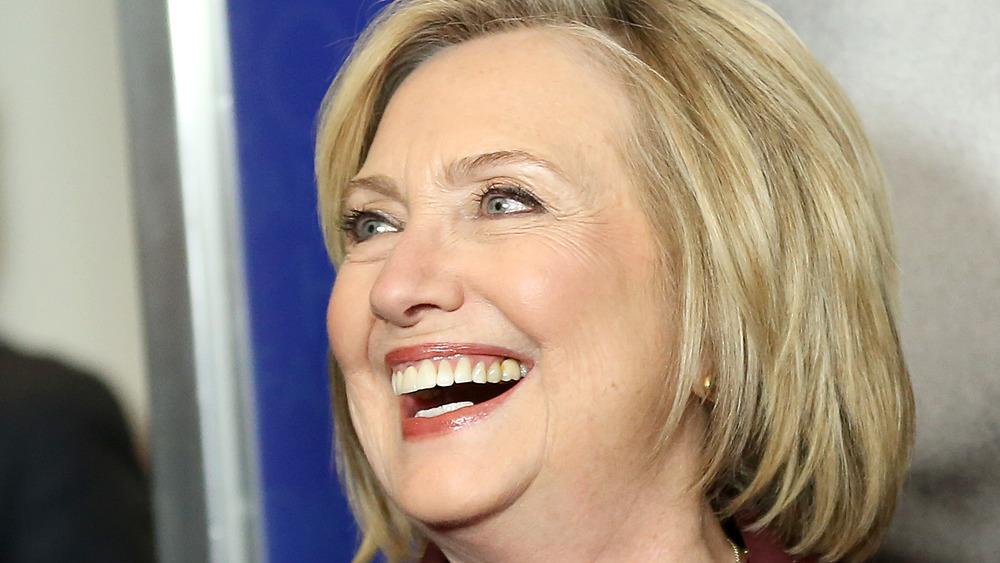 Hillary Clinton close up