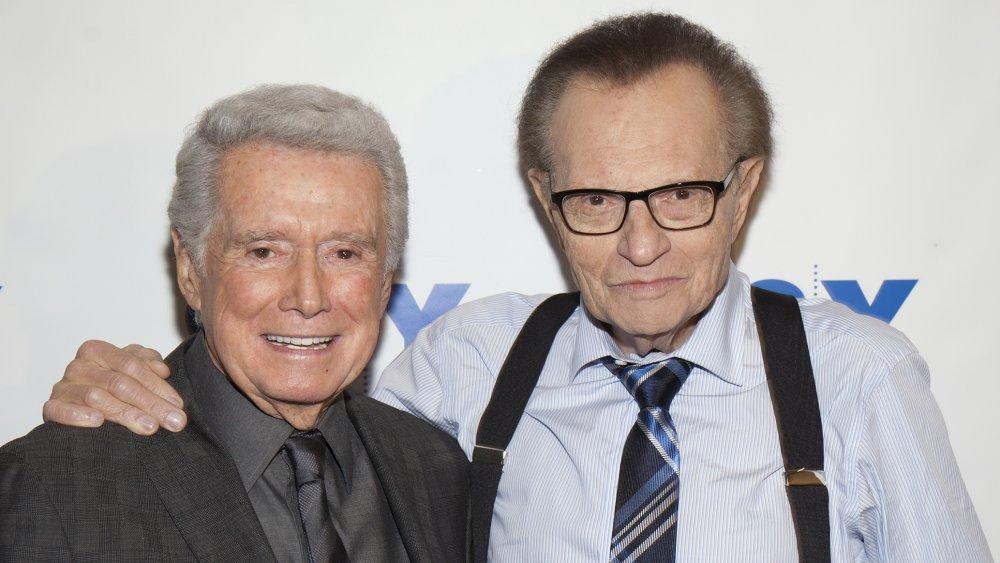 Regis Philbin and Larry King