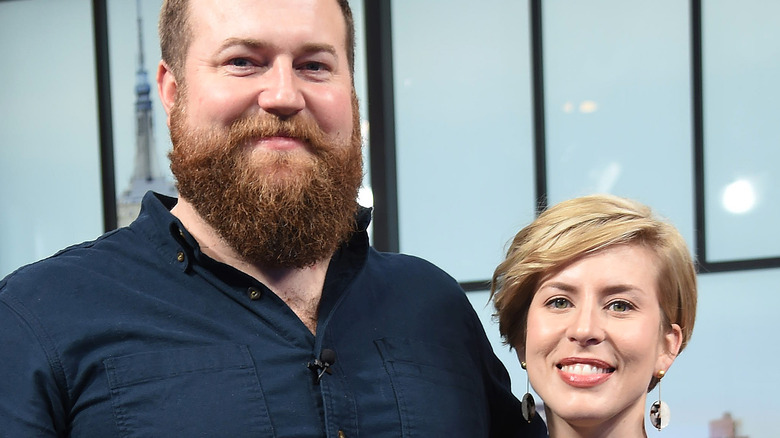 Ben and Erin Napier of Home Town