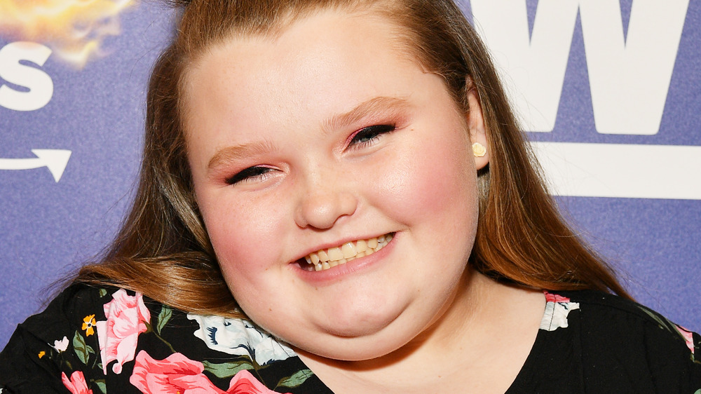 Honey Boo Boo on the red carpet