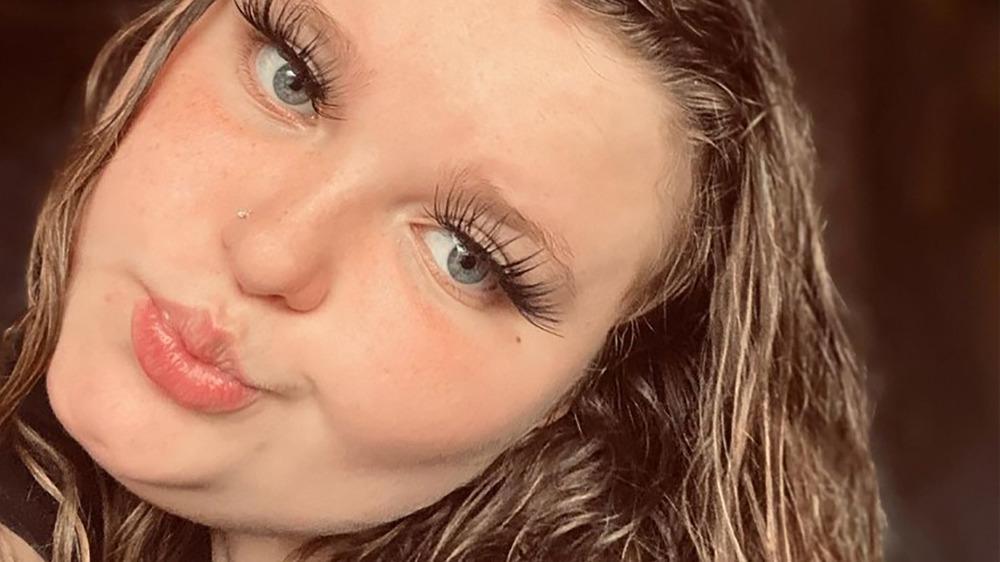 Alana Honey Boo Boo eyelashes