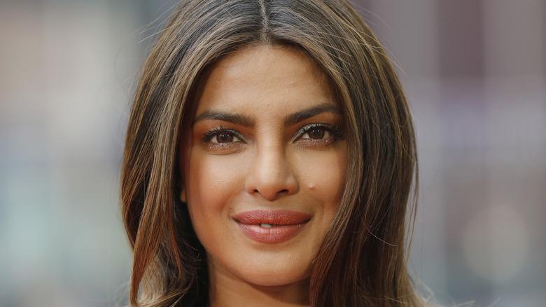 Prinyanka Chopra smiling