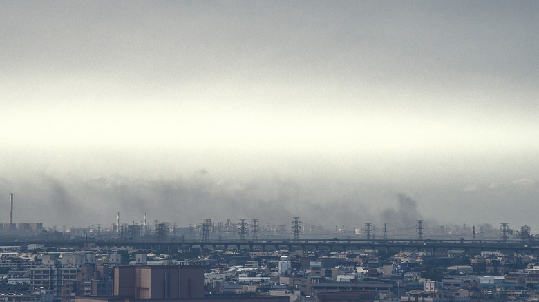 Pollution caused by industry