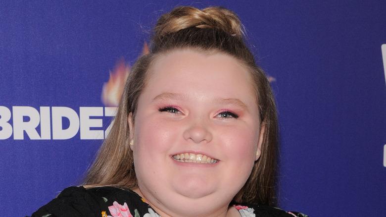 Alana Thompson smiling