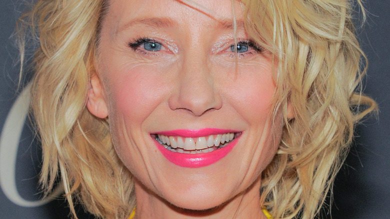 Anne Heche at event