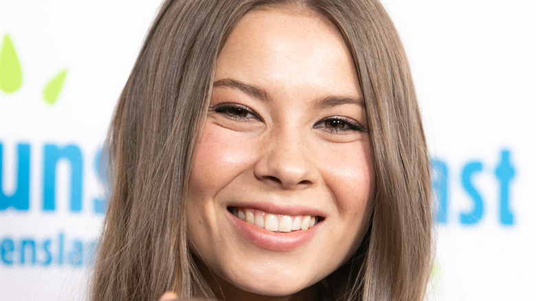 Bindi Irwin smiling