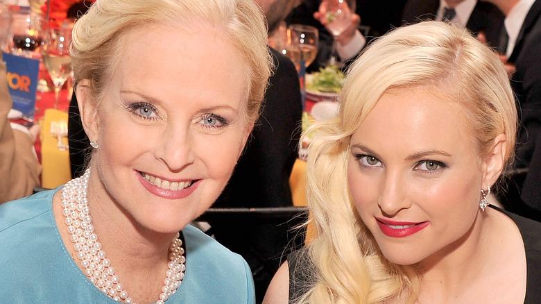 Cindy McCain and Meghan McCain