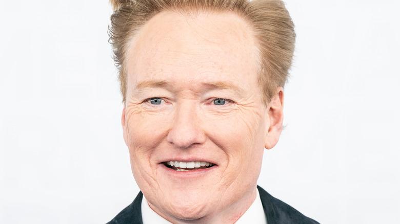 Conan O'Brien on the red carpet