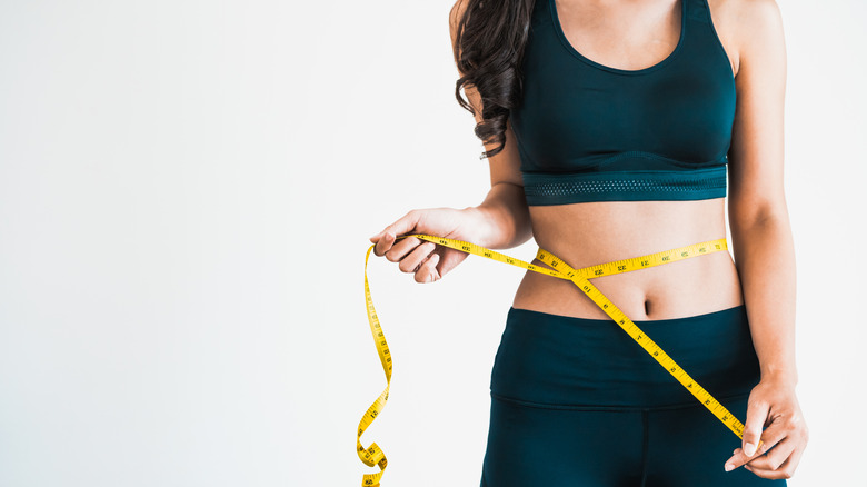 Woman who wants to lose weight