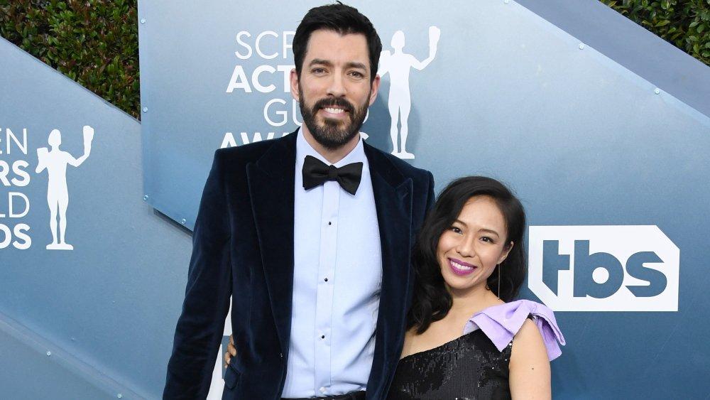 Drew Scott and his wife, Linda Phan