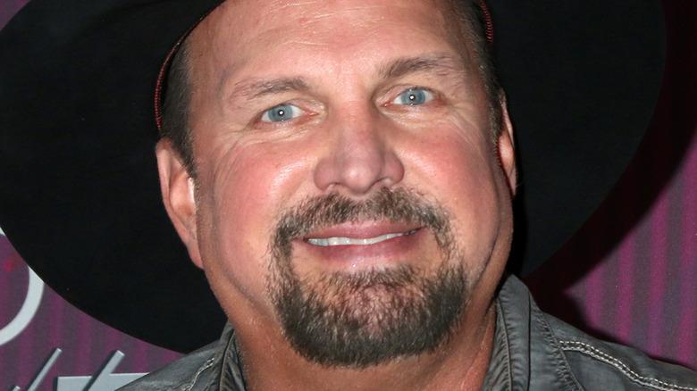 Garth Brooks smiling