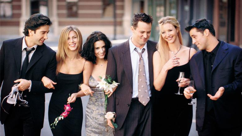 Friends television show cast