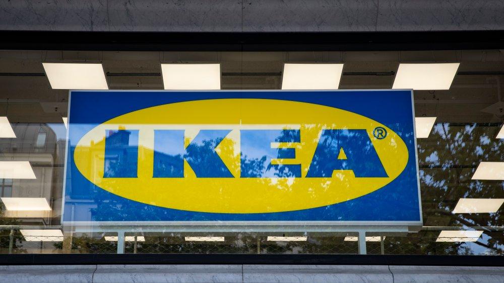 Exterior IKEA sign