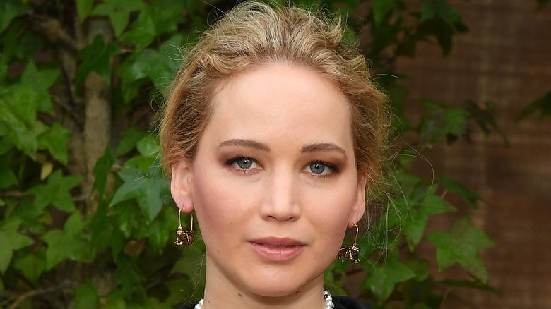 Jennifer Lawrence attending an event
