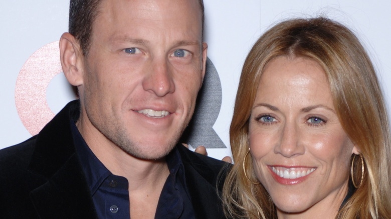 Lance Armstrong and Sheryl Crow at GQ event