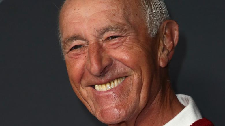 Len Goodman smiling