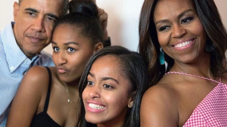 The Obama family on Instagram