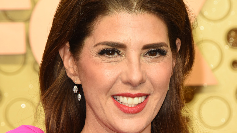 Marisa Tomei smiling widely