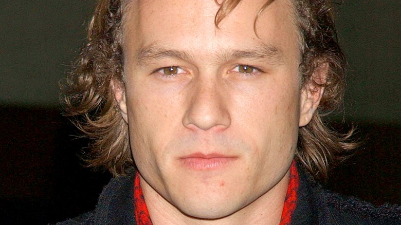 Unsmiling Heath Ledger