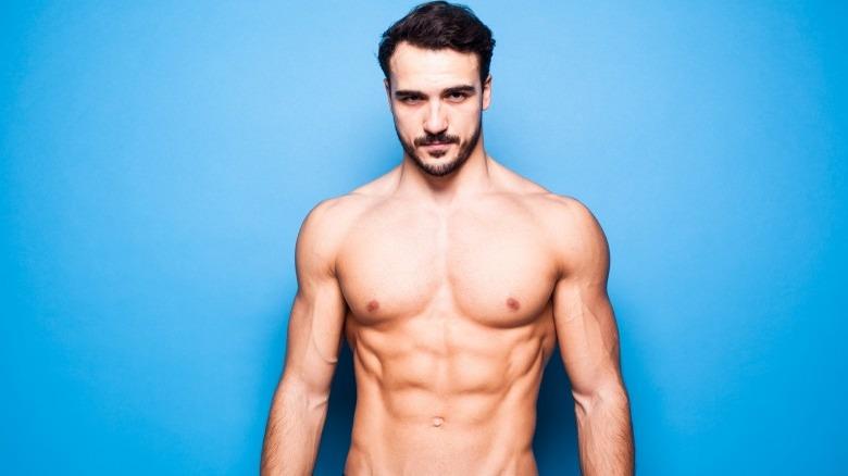man perfect body