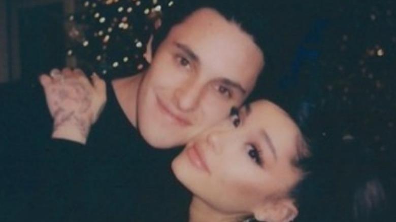 Ariana Grande hugging Dalton Gomez