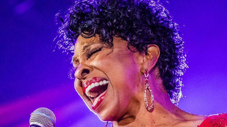 Gladys Knight performs in the Netherlands in 2019