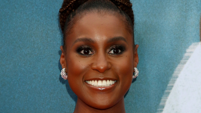 Issa Rae on the red carpet