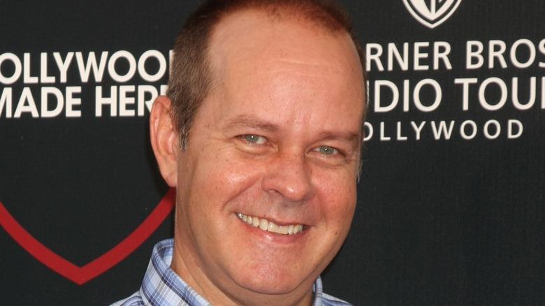 James Michael Tyler smiling