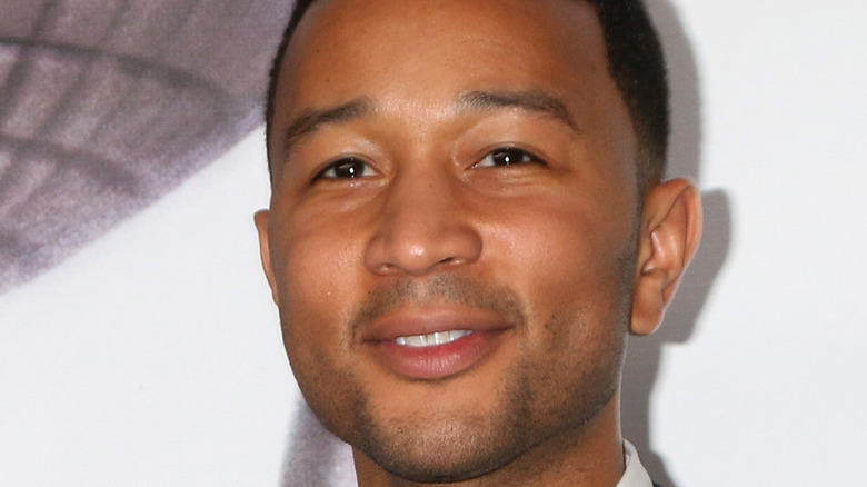John Legend at the NAACP Awards in 2016